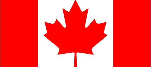 Cosas típicas de Canadá - Bandera de Canadá
