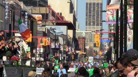 St. Patrick's Parade Toronto
