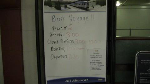 Estación de tren de Winnipeg