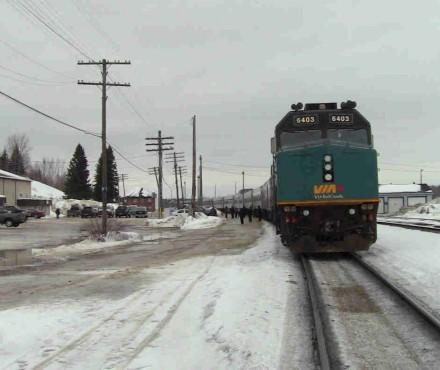 viajar tren canada