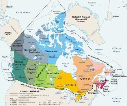 Cuantas provincias tiene Canada