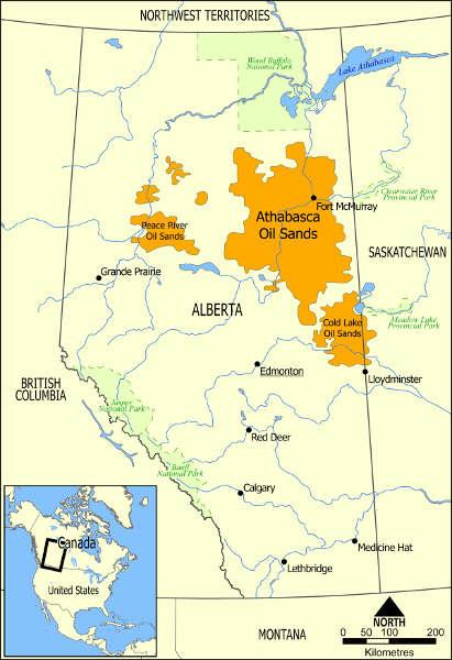 Petroleo en Alberta